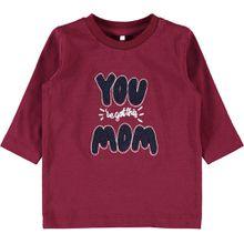 name it Langarmshirt  - Mom