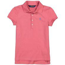 Polo Ralph Lauren Mädchen-Polo-Shirt - Rot (92, 98, 104, 110, 116, 122, S)