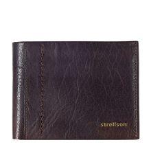 Strellson Walker Geldbörse Leder 12 cm braun Herren