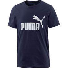 PUMA T-Shirt marine / weiß