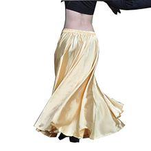 YouPue Damen Tanzkostüm Bauchtanz-Kostüm sexy High-End-Dual Rock Bauchtanz Leistungen große Rock Komfort (nicht enthalten Gürtel) Gürtel Kostüme Bauchtanz Taille Kette Light Gold