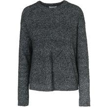 pieces PCFANIA LS KNIT - Pullover - weiblich dunkelgrau Damen