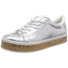 s.Oliver Damen 23626 Sneaker, Silber (Silver), 38 EU