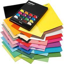 Color Bar, A4 210x297 mm,  250 g, Sortierte Farben, einfarbig, 160 Blatt sortiert