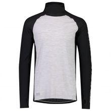 Mons Royale - Temple Tech Flex Hood - Merinounterwäsche Gr L;M;S;XL schwarz;grau/schwarz