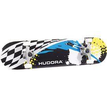 HUDORA Skateboard Racing, ABEC 5 mehrfarbig