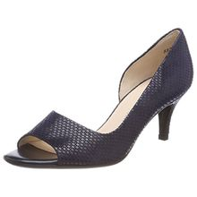 Peter Kaiser Damen Jamala Peeptoe Pumps, Blau (Notte Topic), 39 EU