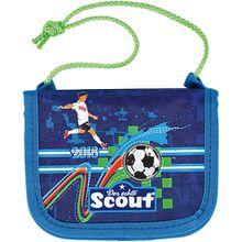 Scout Brustbeutel III Ltd. Ed. World Cup (Kollektion 2018) blau/grün