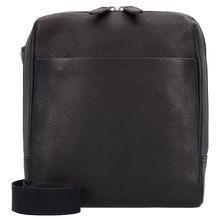 Leonhard Heyden Berlin Mini Bag Umhängetasche Leder 21 cm schwarz Damen