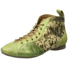 Think! Damen Guad Desert Boots, Grün (Apfel/Kombi 59), 43 EU