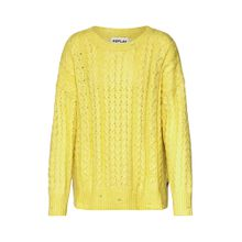 REPLAY Pullover gelb