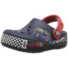 crocs Crocband Fun Lab Graphic Lights Clog Kids, Unisex - Kinder Clogs, Blau (Navy), 22/23 EU