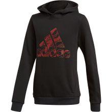 ADIDAS PERFORMANCE Sweatshirt rot / schwarz