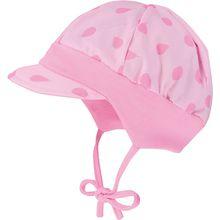 Baby Schirmmütze zum Binden  pink Mädchen Baby