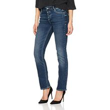 s.Oliver Damen Straight Jeans 04.899.71.4722, Blau (Blue Denim Stretch 55Z6), 42/L36