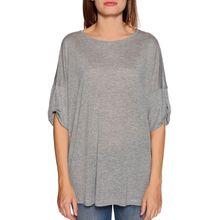 Benetton T-Shirt in grau für Damen