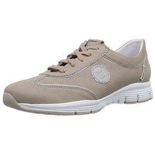 Mephisto YAMINA BUCKSOFT 6960/PERLKID 10168 WARM GREY, Damen Sneakers, Grau (WARM GREY), 41.5 EU (7.5 Damen UK)