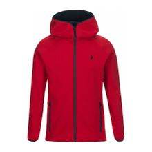 Peak Performance - Chill Zip Herren Fleecehoodiejacke (rot) - M