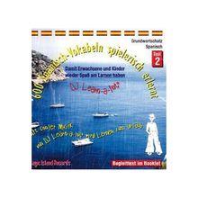 600 Spanisch-Vokabeln spielerisch erlernt, 1 Audio-CD Hörbuch
