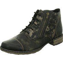 Remonte Damen Stiefeletten - Schwarz Schuhe in Übergrößen, Größe:43