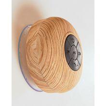 Typo – Drahtlose Lautsprecher für die Dusche mit Eichenholzoptik-Mehrfarbig