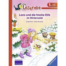 Buch - Leserabe: Lara und die freche Elfe im Winterwald, 1. Lesestufe