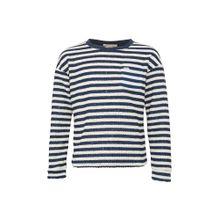 Pepe Jeans Sweatshirt 'BARBARA JR' dunkelblau / weiß