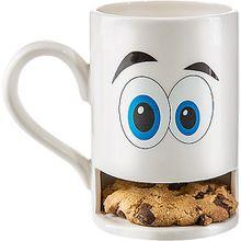 """Keks-Becher """"Mug Monster"""" weiss weiß"""