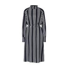 Noisy may Kleid NMCLARA L/S MIDI DRESS Jerseykleider weiß Damen