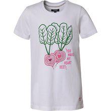 T-Shirt , Organic Cotton weiß Mädchen Kinder