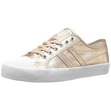 Gola Damen Coaster Metallic Sneaker, Gold (Rose Gold), 37 EU
