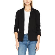 Scotch & Soda Maison Damen Anzugjacke Sweat Blazer, Schwarz (Black 08), 36 (Herstellergröße: S)