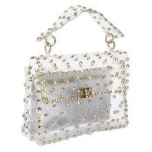 Heine Tasche gold / transparent