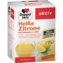 Doppelherz heiße Zitrone mit Vitamin C + Zink