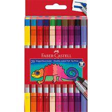 Doppelfilzstifte, 20 Farben