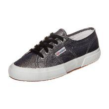 SUPERGA Sneaker '2750 Lamej' grau / schwarz / silber