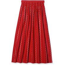 Stockerpoint Damen Dirndlschürze Schürze SC-195, Rot (Rot), 4 (Herstellergröße: 52-56)