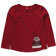 S.Oliver Junior Shirt mischfarben / feuerrot