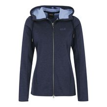 JACK WOLFSKIN Outdoorjacke Riverland Outdoorjacken blau Damen