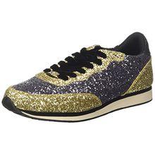 Guess Damen Sunny Sneakers, Mehrfarbig (Pewgo), 37 EU