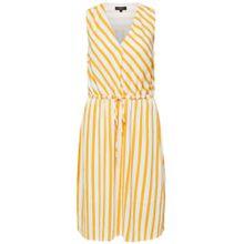 SELECTED FEMME Kleid gelb / weiß
