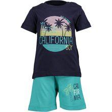 Blue Seven Baby Set T-Shirt + Shorts für Jungen