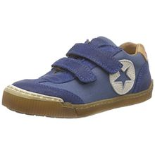 Bisgaard Velcro Shoes, Unisex-Kinder Sneakers, Blau (150 Dark Denim), 33 EU