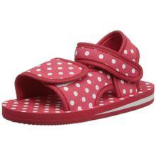 Playshoes EVA Sandale Punkte 171785, Unisex-Kinder Sandalen, Rot (original 900), EU 26/27