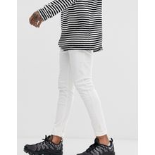 Bershka – Weiße Skinny-Jeans mit 5 Taschen