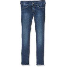 Pepe Jeans Mädchen Jeans Cutsie, Blau (Denim), 10 Jahre
