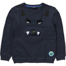 BLUE SEVEN Sweatshirt navy / weiß
