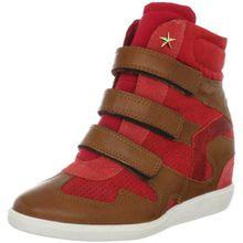 BULLBOXER MA133805030N-A10, Damen Fashion Sneakers, Beige (Noce/Arragosta/Rosso), EU 40