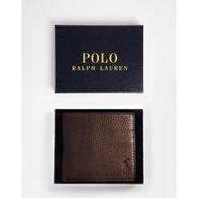 Polo Ralph Lauren - Brieftasche aus Leder - Braun