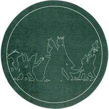 Kinderteppich Schneewittchen, 130 cm grün